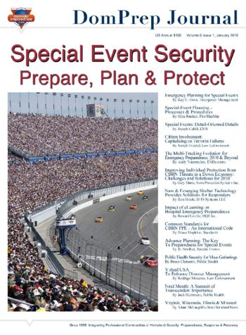 Special Event Security: Prepare, Plan & Protect | DomPrep Journal