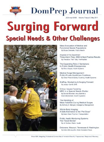 Surging Forward, Special Needs & Other Challenges | DomPrep Journal