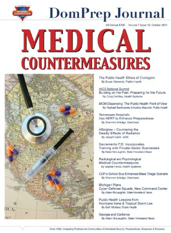 Medical Countermeasures | DomPrep Journal