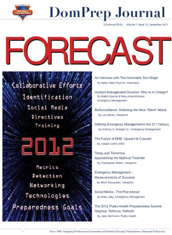 FORECAST 2012 | DomPrep Journal