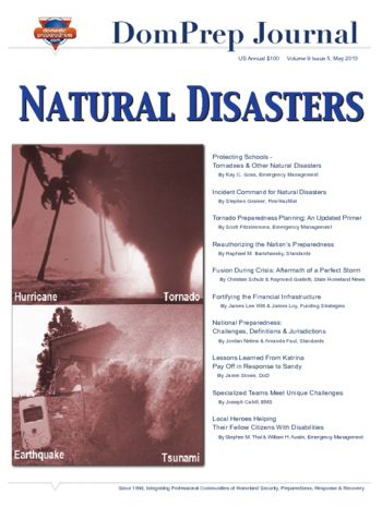 Natural Disasters | DomPrep Journal