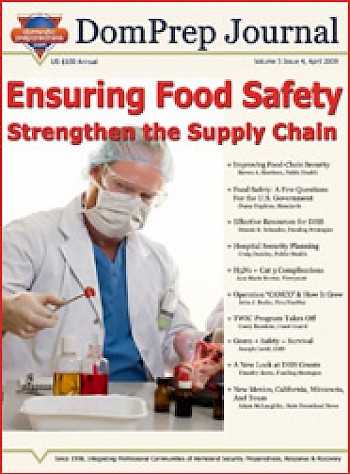 Ensuring Food Safety, Strengthen the Supply Chain | DomPrep Journal