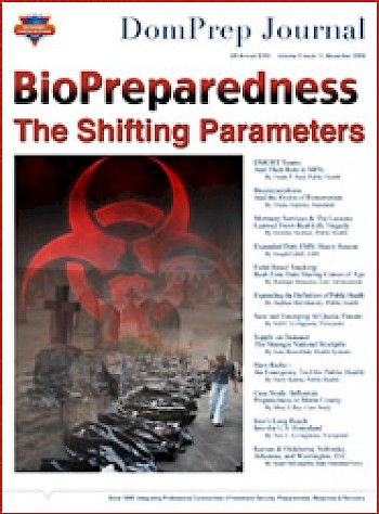 BioPreparedness, The Shifting Parameters | DomPrep Journal