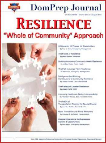 Resilience - 'Whole of Community' Approach | DomPrep Journal