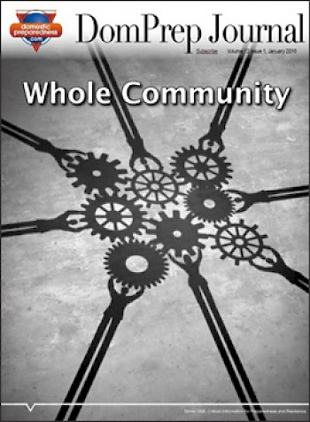 Whole Community | DomPrep Journal