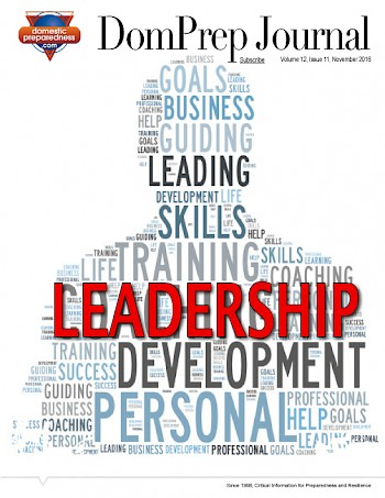 LEADERSHIP | DomPrep Journal
