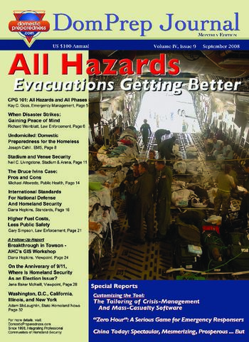 All Hazards, Evacuations Getting Better | DomPrep Journal